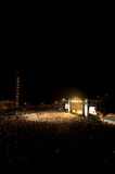 8 rock koncertów Zdjęcia Royalty Free