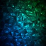 8 rumpled abstrakt bakgrund eps Royaltyfria Foton