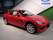 8 samochodowych Mazda rx sportów obrazy stock