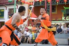 8 shaolin kung - fu. Zdjęcie Royalty Free