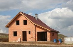 8 som home bygger Royaltyfri Foto