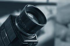 8 super velhos câmera cinematográfica Fotografia de Stock Royalty Free