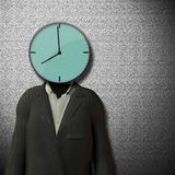 8 Uhr Anfang des Arbeitstages Lizenzfreies Stockfoto