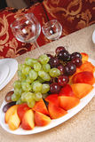 8 winogron brzoskwinia Obrazy Royalty Free