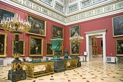 8 wnętrzy pałacu Zdjęcia Royalty Free