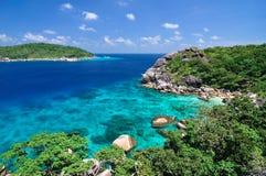 8 wysp koh similand fotografia royalty free