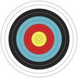 80 cible de tir à l'arc de conception de cm FITA Photos libres de droits