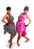 80 danseurs rétro s Images stock