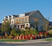 80 domów luksus Obraz Royalty Free