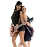 80 dziewczyn glam rock s Zdjęcie Stock