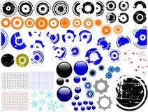 80 Grunge Elements royalty free illustration