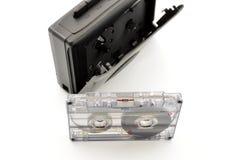 80´s y cinta de cassette del walkman Fotos de archivo libres de regalías
