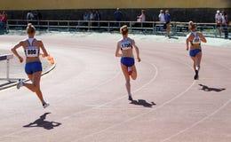 800 flickaräkneverk race Royaltyfria Foton