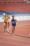 800 mètres des hommes pour les personnes handicapées Photographie stock