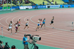 800m final of 16th asian game Royalty Free Stock Image