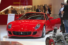 81. geneva internationella motorshow Royaltyfri Foto