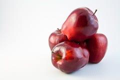 81 röda äpplen Royaltyfria Bilder