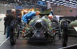 81a demostración de motor internacional de Ginebra Foto de archivo