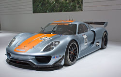 81st geneva internationella motorshow Arkivbilder