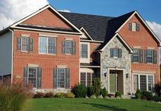 82 domów luksus Obraz Royalty Free