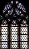 83 окно запятнанное стеклами Стоковая Фотография