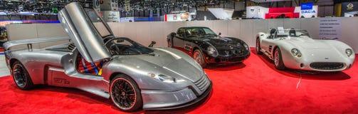 83. Genf Motorshow 2013. Lizenzfreies Stockbild