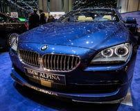 83. Genf Motorshow 2013 - BMW Alpina Stockbilder