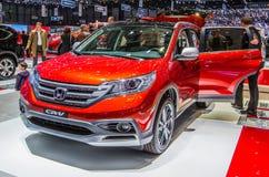 83. Genf Motorshow 2013 - Honda CRV 2013 Stockbild