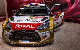83. Genf Motorshow 2013 - Laufen Citroen-DS4 Lizenzfreie Stockbilder
