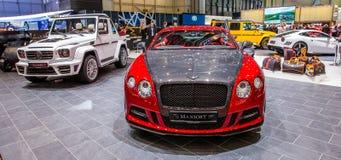 83. Genf Motorshow 2013 - Mansory Stockfotografie