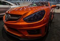 83. Genf Motorshow 2013 - Mansory Stockbild