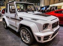 83. Genf Motorshow 2013 - Mansory Lizenzfreies Stockfoto