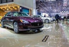 83. Genf Motorshow 2013 - Maserati Stockbild