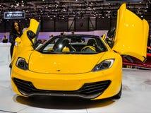 83. Genf Motorshow 2013 - McLaren P1 Stockbilder