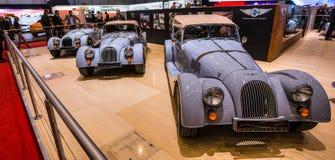 83. Genf Motorshow 2013 - Morgan Stanley-Auslegung Stockbild