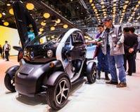 83. Genf Motorshow 2013 - Renault Twizy Lizenzfreie Stockfotografie