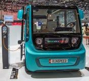 83. Genf Motorshow 2013 - Rinspeed Micromax. Stockfotos