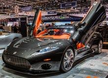 83. Genf Motorshow 2013 - Spyker Lizenzfreie Stockfotografie