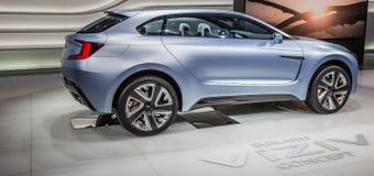 83. Genf Motorshow 2013 - Subaru Viziv Lizenzfreies Stockfoto