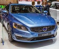 83. Genf Motorshow 2013 - Volvo V60 Lizenzfreies Stockfoto