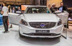 83. Genf Motorshow 2013 - Volvo XC60 Lizenzfreies Stockfoto