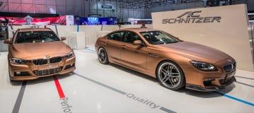 83. Genf Motorshow 2013 - WS Schnitzer BMW Lizenzfreie Stockbilder