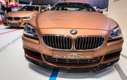 83.o Ginebra Motorshow 2013 - CA Schnitzer BMW Imágenes de archivo libres de regalías