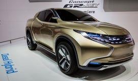 83.o Ginebra Motorshow 2013 - concepto GR-HEV de Mitsubishi Fotografía de archivo libre de regalías