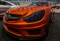 83.o Ginebra Motorshow 2013 - Mansory Imagen de archivo