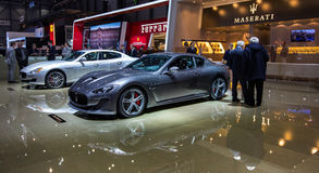83.o Ginebra Motorshow 2013 - Maserati Foto de archivo