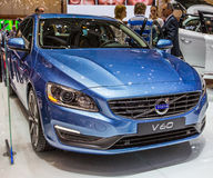 83.o Ginebra Motorshow 2013 - Volvo V60 Foto de archivo libre de regalías
