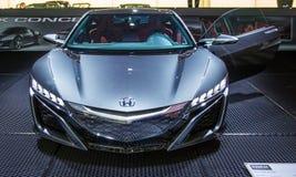 83rd Женева Motorshow 2013 - принципиальная схема Honda NSX стоковые изображения