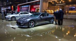 83rd Genebra Motorshow 2013 - Maserati Foto de Stock