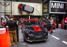 83rd Genebra Motorshow 2013 - o mini tanoeiro de John trabalha o Paceman Imagens de Stock